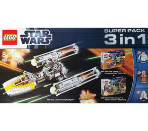 LEGO Super Pack 3-in-1 Set 66411