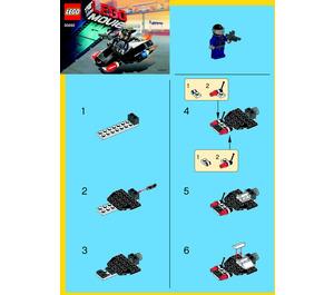 LEGO Super Secret Police Enforcer  Set 30282 Instructions