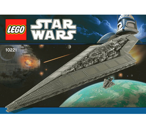 LEGO Super Star Destroyer  Set 10221 Instructions
