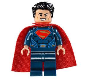 LEGO Superman - Dark Blue Suit, Tousled Hair, Soft Cape Minifigure
