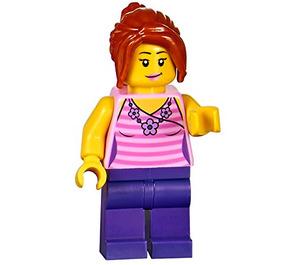 LEGO Supermarket Female Customer Minifigure