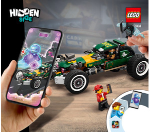 LEGO Supernatural Race Car Set 70434 Instructions