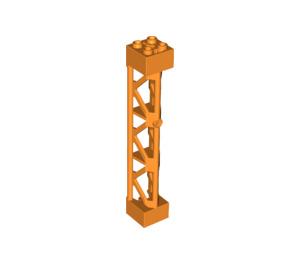 LEGO Support 2 x 2 x 10 Girder Triangular Vertical (Type 4 - 3 Posts, 3 Sections) (95347)