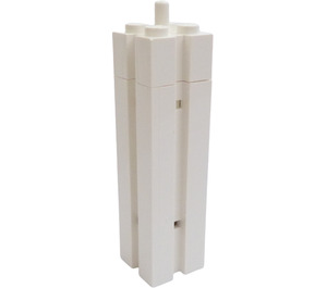 LEGO Support 2 x 2 x 6 Column Solid with Vertical Grooves on All Sides and Peg on Top