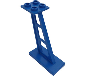 LEGO Support 2 x 4 x 5 Stanchion Inclined with Thin Supports (4476)