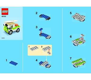 LEGO Surf Van Set 40100 Instructions