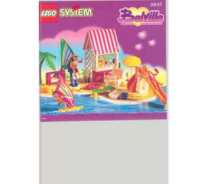 LEGO Surfers' Paradise Set 5847 Instructions