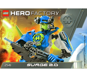LEGO Surge 2.0 Set 2141 Instructions