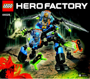 LEGO SURGE & ROCKA Combat Machine Set 44028 Instructions
