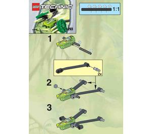 LEGO Swamp Craft Set 1293 Instructions