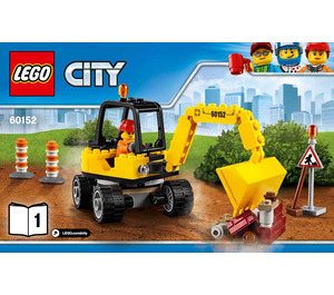 LEGO Sweeper & Excavator Set 60152 Instructions
