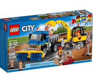 LEGO Sweeper & Excavator Set 60152 Packaging