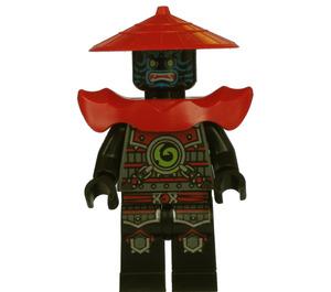 LEGO Swordsman with blue face markings Minifigure