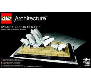 LEGO Sydney Opera House Set 21012 Instructions