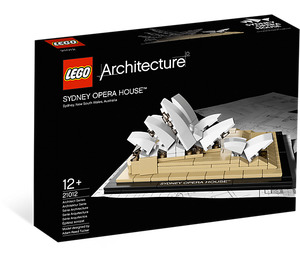 LEGO Sydney Opera House Set 21012 Packaging