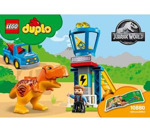 LEGO T. rex Tower Set 10880 Instructions