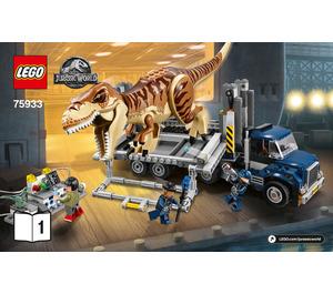 LEGO T. Rex Transport Set 75933 Instructions