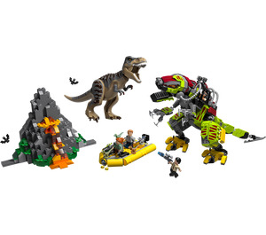 LEGO T. rex vs Dino-Mech Battle Set 75938