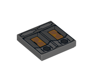 LEGO T7-O1 Tile 2 x 2 with Groove (3068 / 10548)
