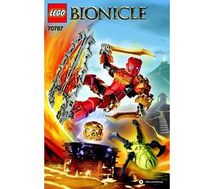 LEGO Tahu - Master of Fire Set 70787 Instructions