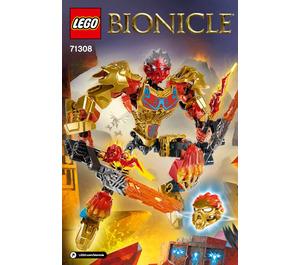 LEGO Tahu - Uniter of Fire Set 71308 Instructions