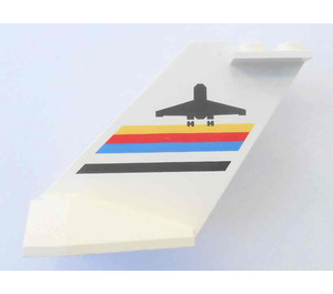 LEGO Tail Plane with Airport Logo (4867)