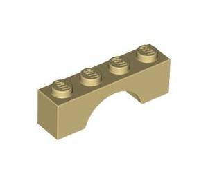 LEGO Tan Arch 1 x 4 (3659)