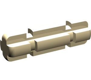 LEGO Tan Axle 2 with Grooves