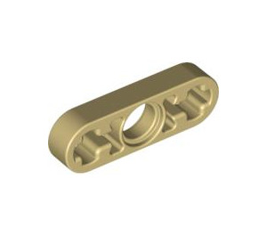 LEGO Tan Beam 3 x 0.5 with Axle Hole each end (6632)