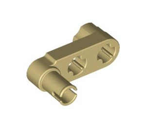 LEGO Tan Beam 3 x 0.5 with Knob and Pin (33299)