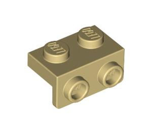 LEGO Tan Bracket 1 x 2 - 1 x 2 (99781)