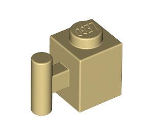 LEGO Tan Brick 1 x 1 with Handle (2921 / 28917)