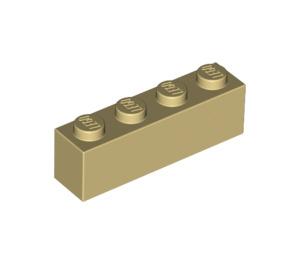 LEGO Tan Brick 1 x 4 (3010)