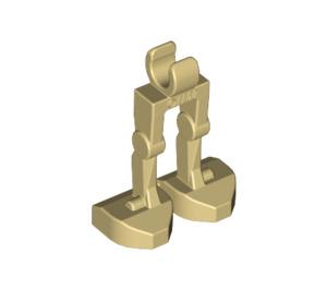 LEGO Tan Minifig Mechanical Legs (30376 / 49713)