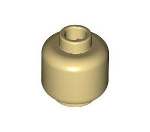 LEGO Tan Plain Head (Safety Stud) (3626 / 88475)