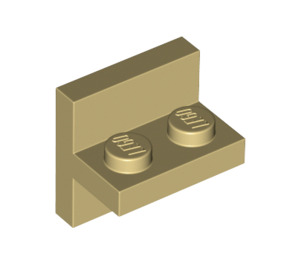 LEGO Tan Plate 1 x 2 with Vert. Tube (41682)