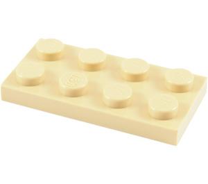 LEGO Tan Plate 2 x 4 (3020)