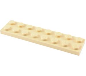 LEGO Tan Plate 2 x 8 (3034)