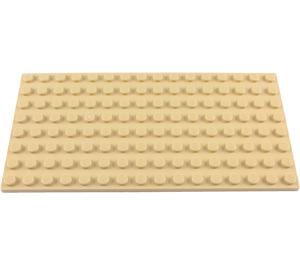 LEGO Tan Plate 8 x 16 (92438)