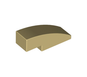 LEGO Tan Slope 1 x 3 Curved (50950)