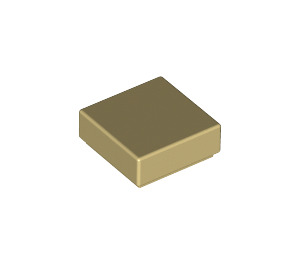 LEGO Tan Tile 1 x 1 with Groove (3070)
