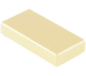 LEGO Tan Tile 1 x 2 with Groove (3069)