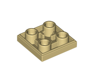 LEGO Tan Tile 2 x 2 Inverted (11203)