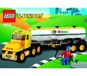 LEGO Tanker Truck Set 4654 Instructions