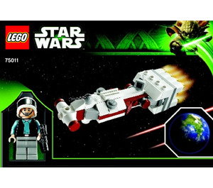 LEGO Tantive IV & Planet Alderaan Set 75011 Instructions