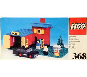 LEGO Taxi Garage Set 368