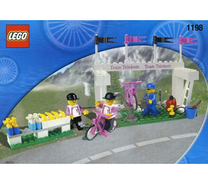 LEGO Telekom Race Cyclists and Service Crew Set 1198