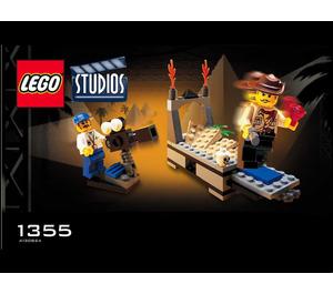 LEGO Temple of Gloom Set 1355 Instructions