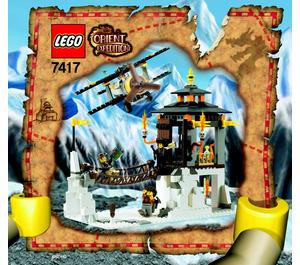 LEGO Temple of Mount Everest Set 7417 Instructions