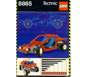 lego test car set 8865 brick owl lego marketplace. Black Bedroom Furniture Sets. Home Design Ideas